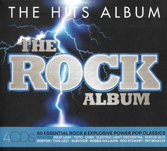 VA - The Hits Album: The Rock Album (4CD, 2019)