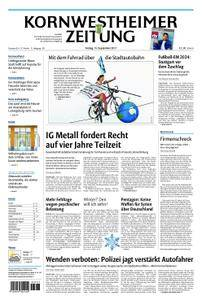 Kornwestheimer Zeitung - 15. September 2017