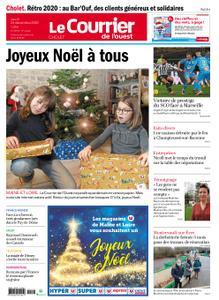 Le Courrier de l'Ouest Cholet – 24 décembre 2020