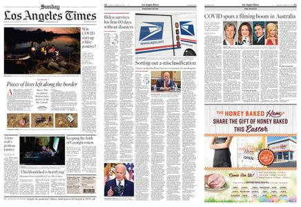 Los Angeles Times – March 28, 2021