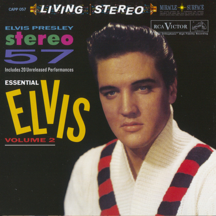 Elvis Presley - Essential Elvis Volume 2: Stereo '57 (1988) [Analogue Productions 2013] PS3 ISO + Hi-Res FLAC