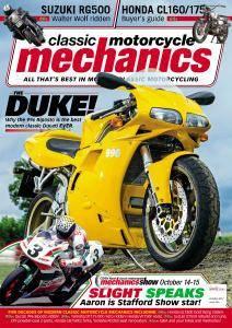 Classic Motorcycle Mechanics - October 2017