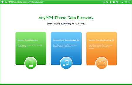 AnyMP4 iPhone Data Recovery 7.6.8 Multilingual Portable