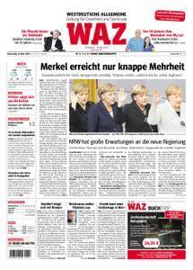 WAZ Westdeutsche Allgemeine Zeitung Oberhausen-Sterkrade - 15. März 2018