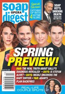 Soap Opera Digest - March 30, 2020