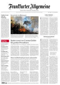 Frankfurter Allgemeine Zeitung - 18 August 2020