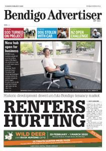 Bendigo Advertiser - February 27, 2020