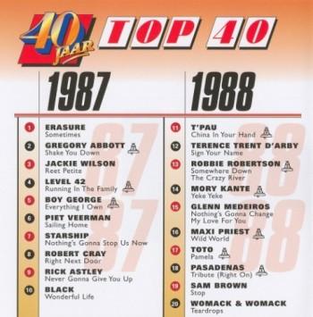 40 Jaar Top 40 1987-1988