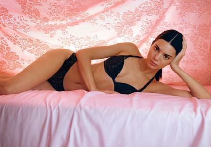 Kendall Jenner - Calvin Klein Underwear Spring Campaign 2019