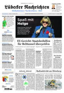 Lübecker Nachrichten Ostholstein Süd - 14. Dezember 2018