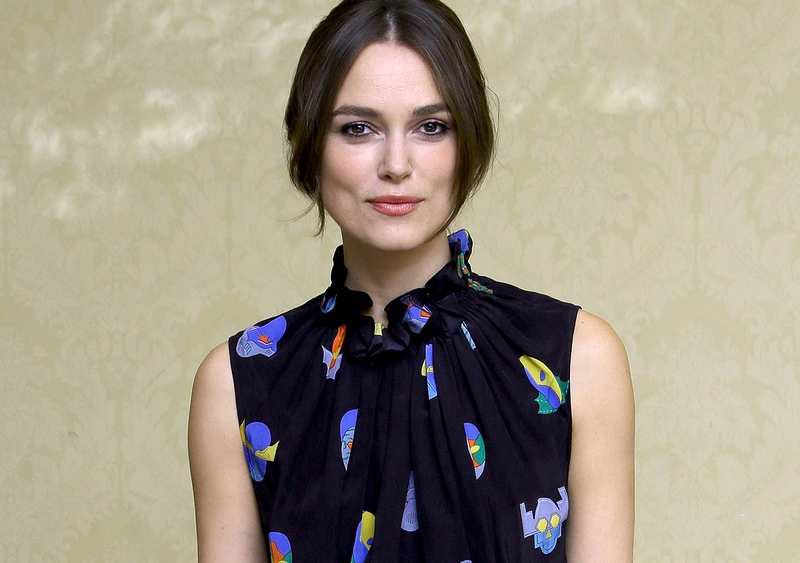 Keira Knightley - 'The Imitation Game' Press Conference Portraits by Munawar Hosain during 2014 TIFF on September 10, 2014