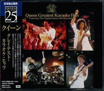Queen - Queen Greatest Karaoke Hits (2CD, 1998) RE-UPPED