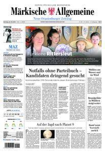 Neue Oranienburger Zeitung - 22. Mai 2018