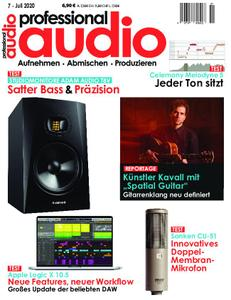 Professional Audio – Juli 2020