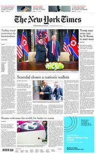 International New York Times - 13 June 2018