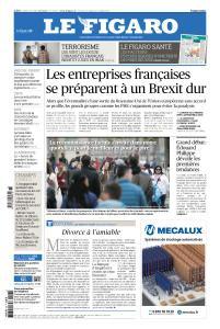 Le Figaro du Lundi 8 Avril 2019