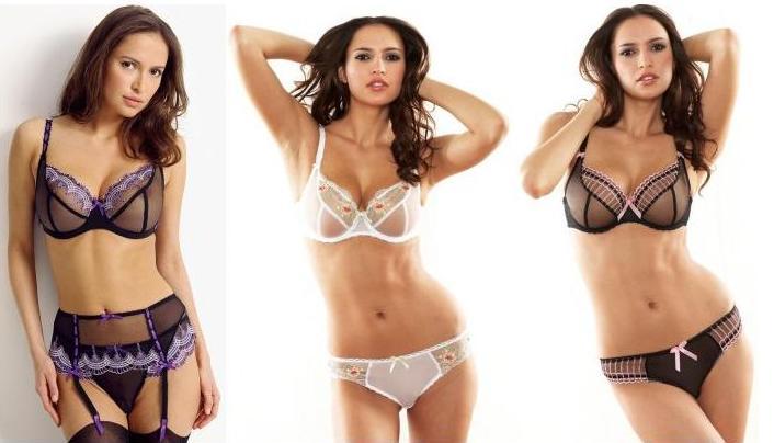 Sasha Volkova - Marks & Spencer Lingerie shoots (part 2)
