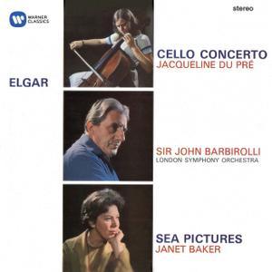 Jacqueline du Pré, Janet Baker, John Barbirolli, London Symphony Orchestra - Elgar: Cello Concerto, Sea Pictures (2004)