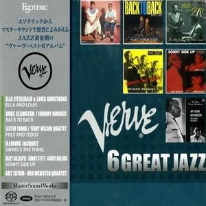 VA - Verve 6 Great Jazz (2017) [Esoteric Japan Box Set] SACD ISO + Hi-Res FLAC