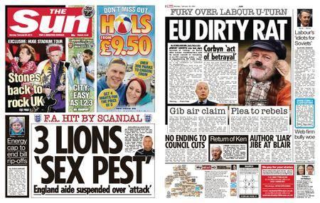 The Sun UK – 26 February 2018