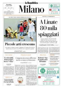 la Repubblica Milano - 4 Agosto 2019