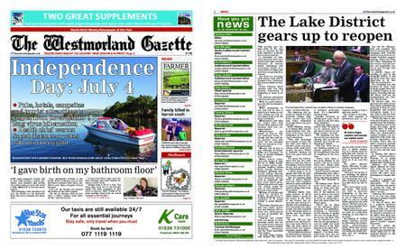 The Westmorland Gazette – June 25, 2020