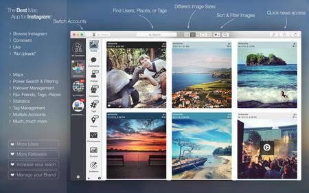 PhotoDesk - for Instagram 4.1.5 Mac OS X