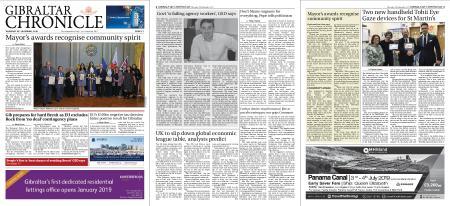 Gibraltar Chronicle – 20 December 2018