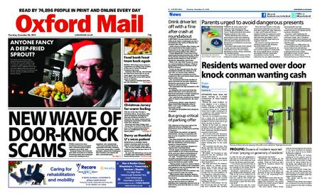 Oxford Mail – December 20, 2018