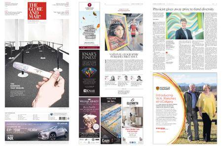 The Globe and Mail – September 22, 2018