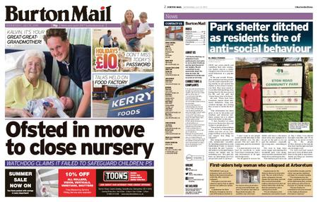 Burton Mail – July 10, 2019