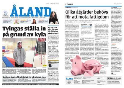 Ålandstidningen – 27 februari 2018
