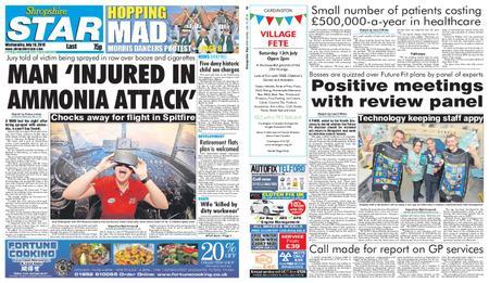 Shropshire Star Last Telford Edition – July 10, 2019