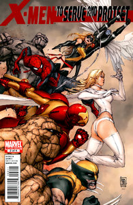 X-Men To Serve And Protect #1-4 (of 04) Complete (2011)