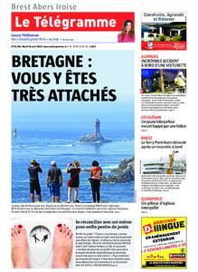 Le Télégramme Brest Abers Iroise – 30 avril 2019