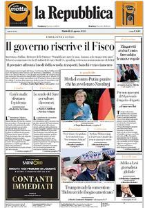 la Repubblica - 25 Agosto 2020
