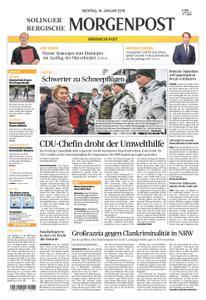 Solinger Morgenpost – 14. Januar 2019