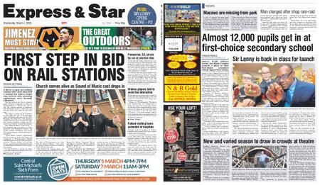 Express and Star City Edition – March 04, 2020