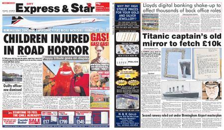 Express and Star City Edition – November 07, 2018