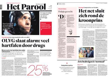 Het Parool – 17 oktober 2018