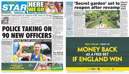 Shropshire Star Shrewsbury Edition – June 18, 2018