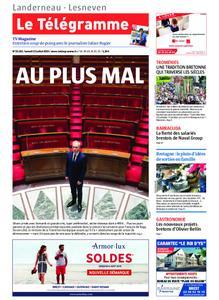 Le Télégramme Landerneau - Lesneven – 13 juillet 2019
