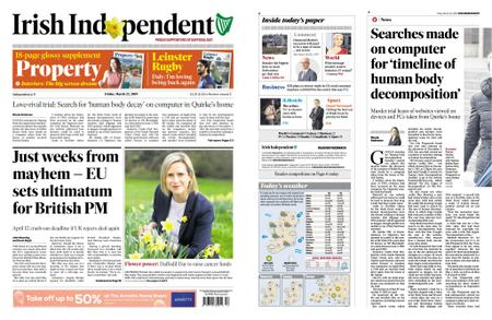 Irish Independent – March 22, 2019