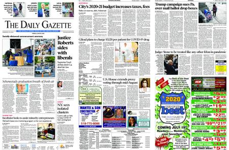 The Daily Gazette – June 30, 2020