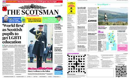 The Scotsman – November 09, 2018