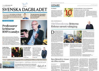 Svenska Dagbladet – 10 december 2019