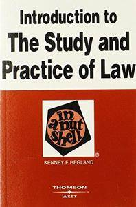 Introduction to the Study and Practice of Law