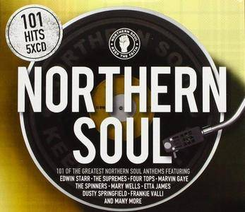 VA - 101 Northern Soul (5CD, 2018)