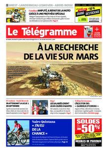 Le Télégramme Brest Abers Iroise – 31 juillet 2020