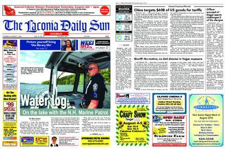 The Laconia Daily Sun – August 04, 2018